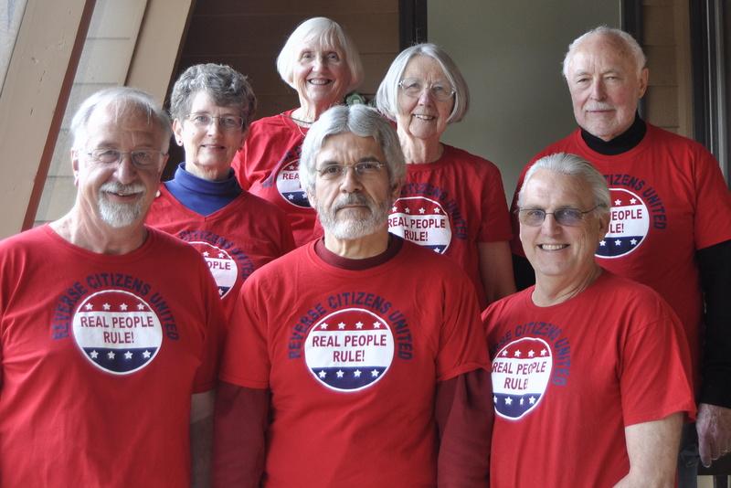 2016 Steering Committee - Front row: Doug Davis, Dan Morelli, George Rehrey. Back row: Susan Davis, Tomi Allison, Kathy Dilcher, Jim Allison.