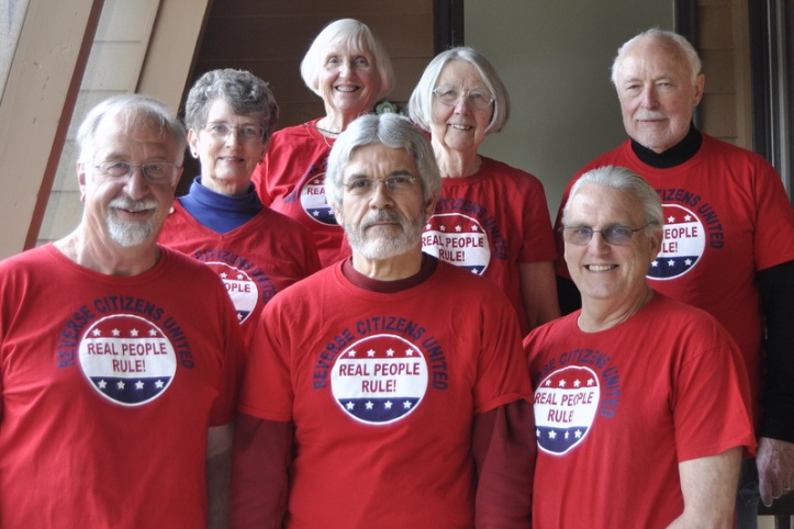 2016 Steering Committee - Front row, left to right: Doug Davis, Dan Morelli, George Rehrey. Back row: Susan Davis, Tomi Allison, Kathy Dilcher, Jim Allison. Not pictured: Velma Davis.