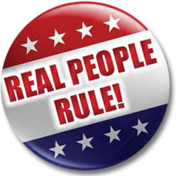 Real People Rule logo