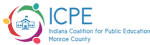 Indiana Coalition for Public Education Monroe County logo