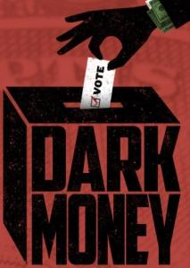 """Dark Money"" film graphics"