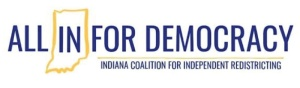All In For Democracy logo