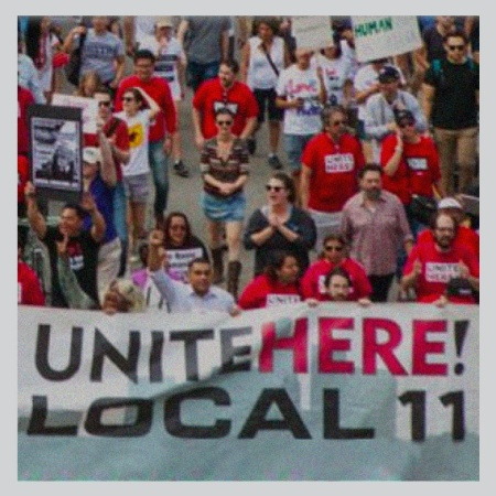 Workers unite and march for Local 11