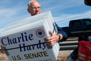 Charlie, a former priest, runs for US Senate in Wyoming,