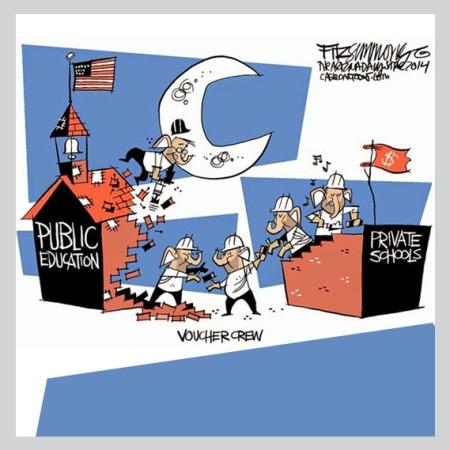 public vs private school debate continues