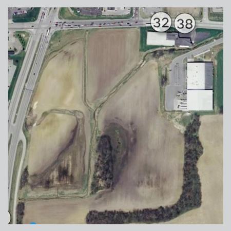 bird-eye-view of Indiana wetlands